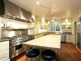 kitchens with track lighting. Track Lighting Kitchen With Glass Door Kitchens With Track Lighting O