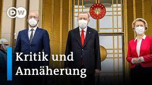 EU-Spitzen treffen türkischen Präsidenten Recep Tayyip Erdogan in Ankara