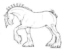 Horse Coloring Picture Realistic Horse Coloring Pages As Cool Horse