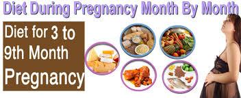 7 Month Pregnancy Diet Chart Third Trimester Months 7 To Women Club Beauty Health Fashion