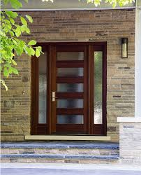 stunning wooden front doors with glass exterior door gallery wooden door pictures