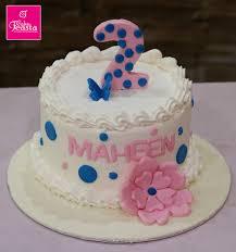 Baby Girl Birthday Cake Customized Cakes In Lahore
