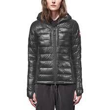 Canada Goose - Hybridge Lite Hooded Down Jacket - Women s - Graphite Black
