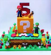 See more ideas about mario cake, mario birthday, mario birthday cake. Super Mario Luigi Birthday Cake Celebration Cakes