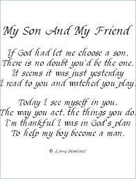 To My Son Quotes Custom Happy Birthday To My Son Quotes Clickadoonet