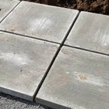 how to build a shed base with paving slabs
