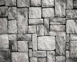 Behang Stenen Muur
