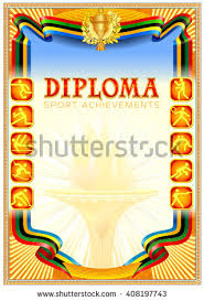 sport diploma blank icons on ribbon stock vector  sport diploma blank icons on the ribbon orange texture background fire flames in