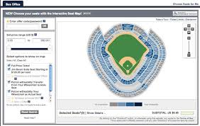 Ticketmaster Now Allows Fans To Pick Their Own Seats River