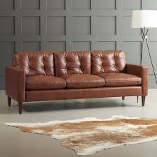 DwellStudio Leather Sofa Reviews DwellStudio