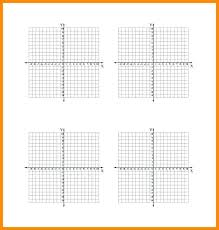 Printable Graphs Numbered Graph Paper With Grid Axis Generator 8