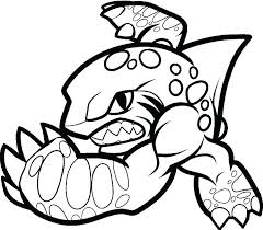 skylander coloring pages free printable. Unique Printable Printable Skylanders Coloring Pages Sheets Free  Trap Pertaining To Skylander Colouring Throughout P