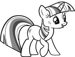 My Little Pony Coloring Pages Twilight Sparkle Dwcp My Little Pony