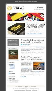 Music Newsletter Templates Ez News Newsletter Template News Ez Template Newsletter Art