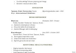 Simple Resume Sample Housekeeping Resume Sample Example For Senior Living Supervisor 99