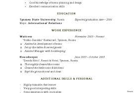 Simple Resume Sample Housekeeping Resume Sample Example For Senior Living Supervisor 99