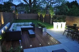 Modern Toronto Backyard contemporary-patio