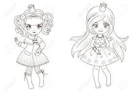 ぬりえ帳が のためのおとぎ話のお姫様を概要します