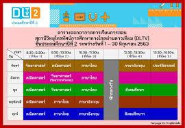 DLTV ดูย้อนหลัง - ตารางออกอากาศการเรียนการสอน DLTV...