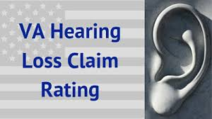 Va Disability Chart With Current Compensation Rates Va Hearing Loss Claim Rating
