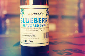 anthone s blueberry flavored syrup made by anthony s in philadelphia ms