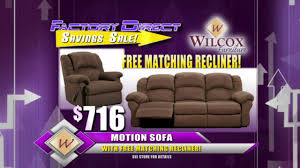 New mercial for Wilcox Furniture