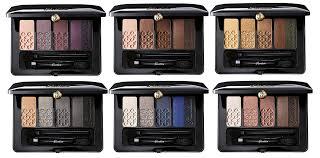 guerlain makeup collection for autumn 2016 palette 5 couleurs