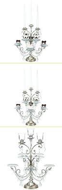chandelier cupcake holder collection 8 piece stand with 3 glass votive crystals chandelier cupcake holder