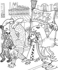 Celebration Of Purim Coloring Page Free Printable Coloring Pages