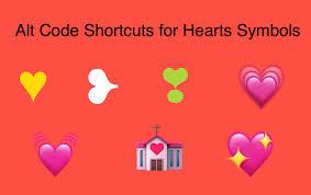 Microsoft Word Hearts Alt Code Keyboard Shortcuts For Heart Emoji Webnots