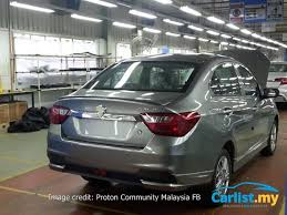proton new car releaseLeaked 2016 AllNew Proton Saga  First Set Of Undisguised Images