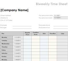 Daily Timesheet Template Hunecompany Com