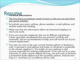 Objective Job Application Job Application Letters Resume