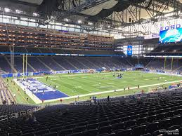 Ford Field Section 122 Detroit Lions Rateyourseats Com