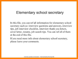9+ school secretary resumes | writing a memo