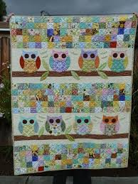 179 best Fabrics, Patterns and Quilts images on Pinterest | Book ... & You have to see Owl Baby Quilt on Craftsy! - Looking for quilting project  inspiration? Check out Owl Baby Quilt by member KGapud. Adamdwight.com