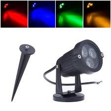 9w waterproof led lawn lamp for garden landscape spot light ip65 220v 110v outdoor lighting path
