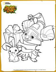 Small Picture Animal Jam Cosmo Coloring Page Arts and Crafts Pinterest