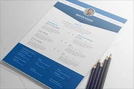50 Beautiful Free Resume Cv Templates In Ai Indesign