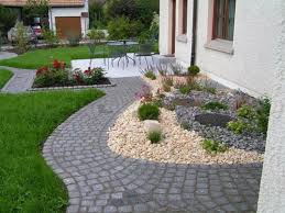 Vorgarten Mit Kies Nowaday Garden
