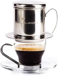 The vietnamese coffee industry mainly produces three types of coffee beans, which are robusta, arabica, and liberia. Amazon Com Vietnamese Coffee Maker Filter Phin Small French Press Portable Cup Single Serve Coffee Makers Gift For Coffee Lovers Kitchen Dining