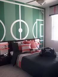 Soccer Room  For Alessandro  Pinterest  Soccer Room Room And Soccer Bedroom Decor