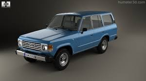 360 view of Toyota Land Cruiser (J60) 1980 3D model - Hum3D store