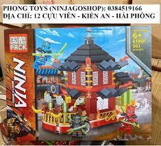 Rẻ vô địch] Lắp ráp xếp hình Lego Ninjago Mùa 13 - PRCK 61068 ( Xếp Hình  Căn Nhà Di Động Ninja 503 Mảnh )