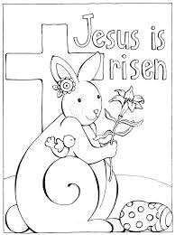 Coloring Pages Printable Religious Bible Preschool Free Easter