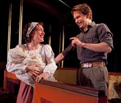 a little journey at mint theater company review the new york a little journey samantha soule and mccaleb burnett in the revival of the rachel crothers work at the mint theater company credit richard termine
