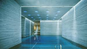 Contemporary Basement Pool Glass M In Innovation Ideas