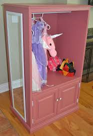 old dresser or tv unit to diy dress up closet storage ikea ideas