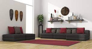 to decorate a room with dark furniture