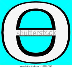 stock photo theta greek letter the greek alphabet is the script that has been used to write the greek language